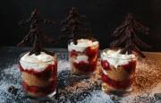 Weihnachtswald Dessert