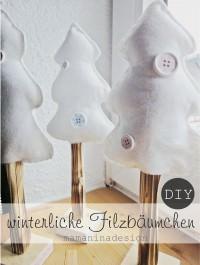 Winterwald für die Fensterbank