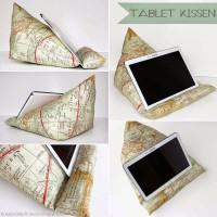 Tablet-/E-Book-/Buch-KISSEN