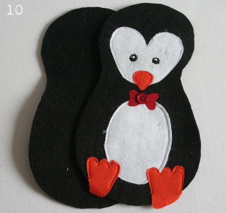 Niedlicher Hausgast - Ein kleiner Pinguin - HANDMADE Kultur