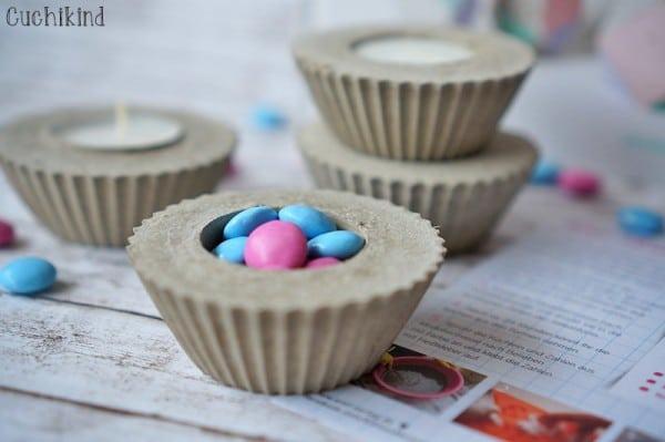 Beton-Muffins