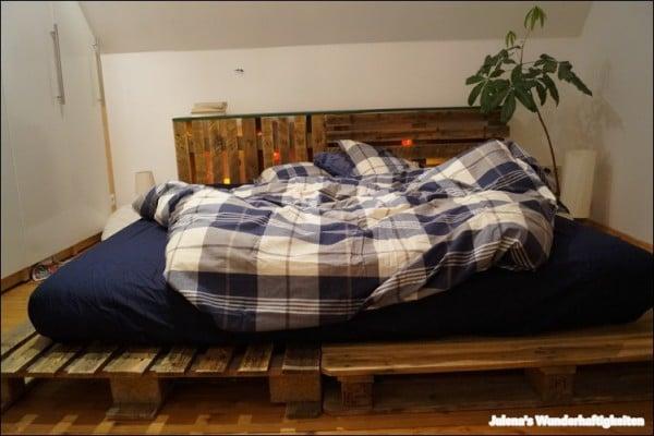 unser paletten doppelbett der schlaf ist doch die k stlichste erfindung h heine handmade. Black Bedroom Furniture Sets. Home Design Ideas