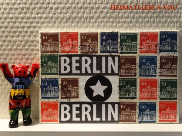 Briefmarke goes Upcycling