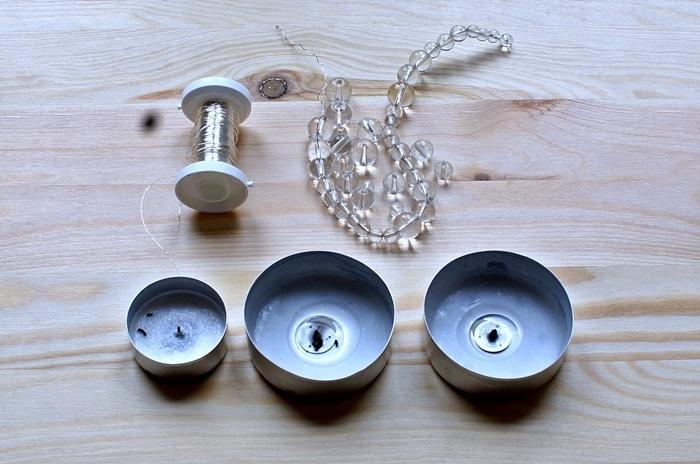 Lichtfänger Aus Teelichthülsen Handmade Kultur