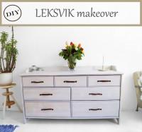 IKEA LEKSVIK makeover