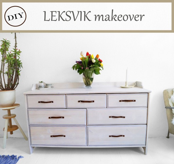 ikea leksvik makeover handmade kultur. Black Bedroom Furniture Sets. Home Design Ideas