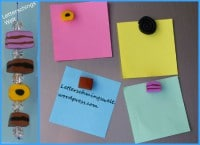 Süßigkeiten-Magneten/ Schlüsselanhänger aus Fimo