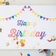 A la carte - Einladung und Happy Birthday