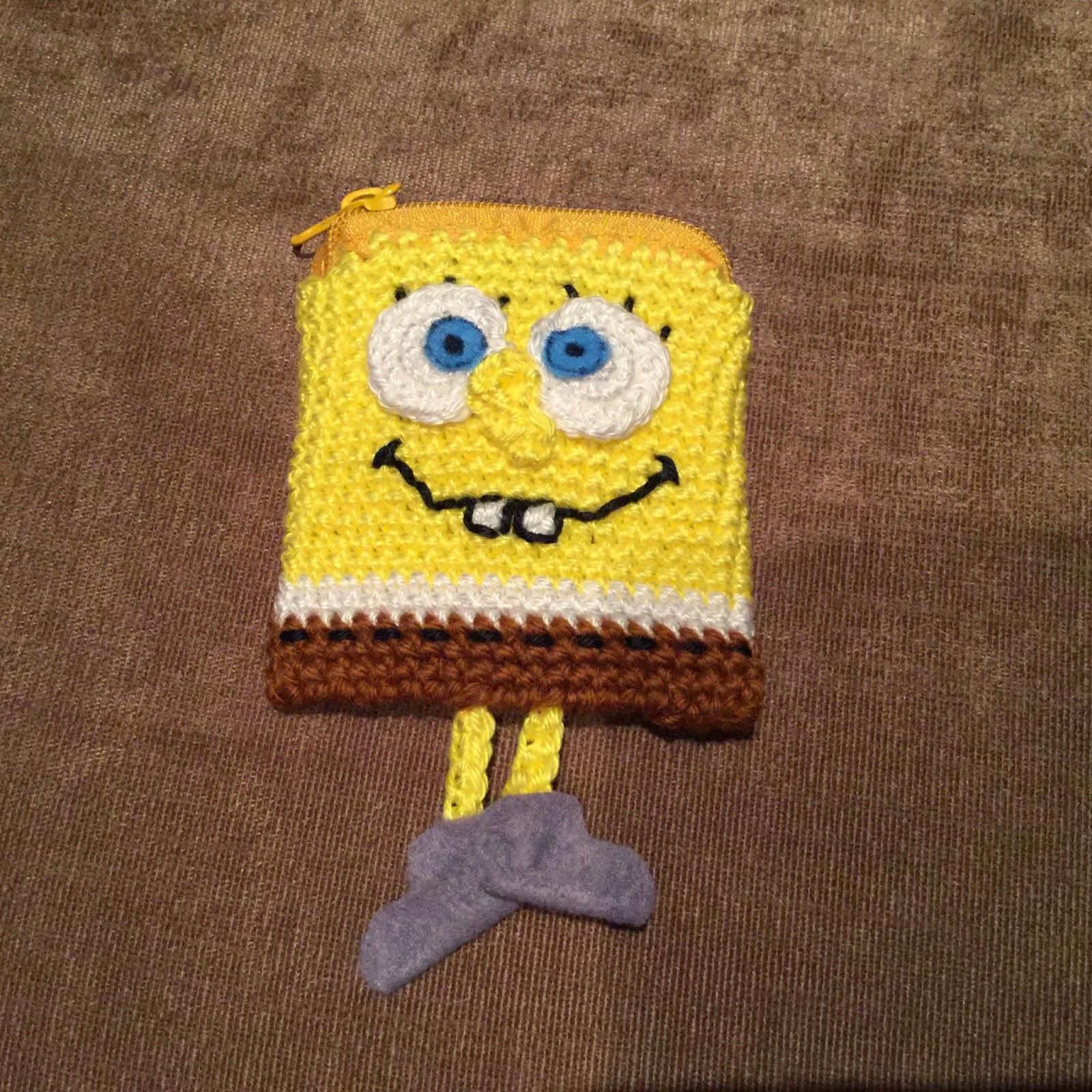 Spongebob Schwammkopf Minibörse - HANDMADE Kultur