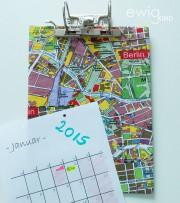 Schneller Kalender aus altem Aktenordner