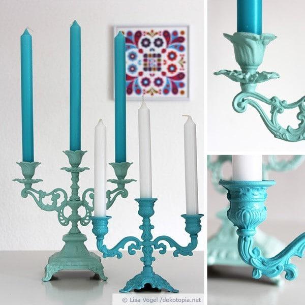 Aufgemöbelt: Kerzenständer-Sammlung