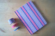 Notizbuch mit Washi Tape verschönern