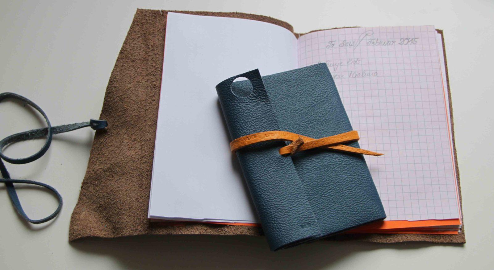 Notizbuch Mit Ledereinband Handmade Kultur