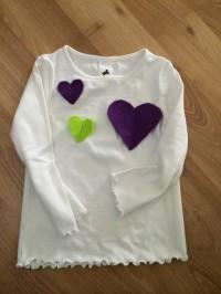 T-Shirt pimpen mit Herz