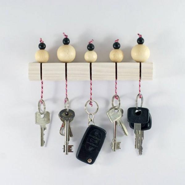 Simples DIY Schlüsselbord