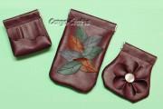 DIY - Schnappverschlusstasche aus Kunstleder