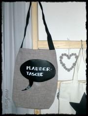 Plauder-Tasche mit Tafelfolie