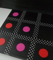 Tic-Tac-Toe-Spiel für den Valentinstag