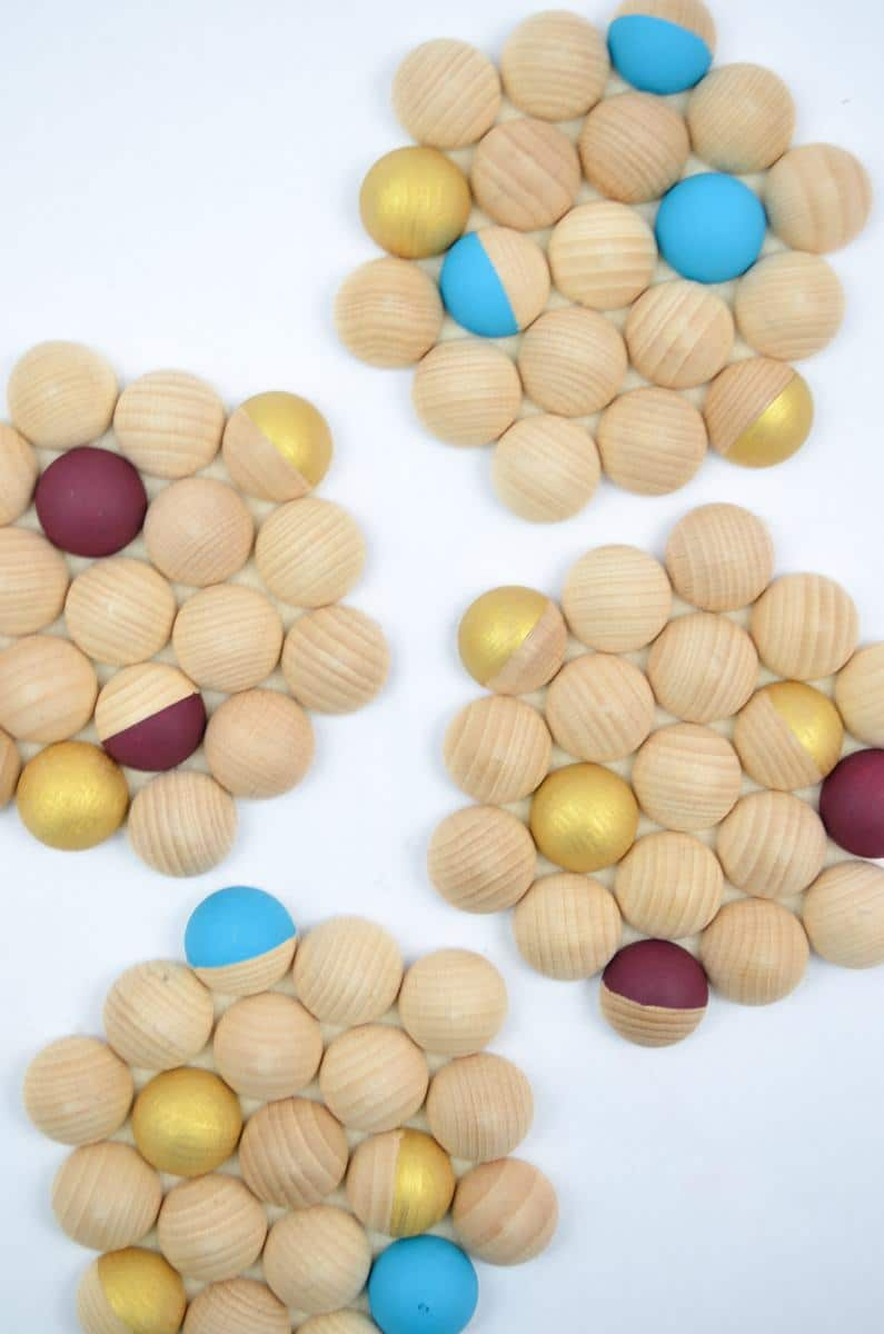 Untersetzer Holz Wäscheklammern ~ holz  Seite 3 von 6  DIY Anleitungen bei Handmade Kultur