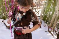 Faschingskostüm in 2 Stunden  - DIY  - Wowowow Indianer für Junge und Mädchen