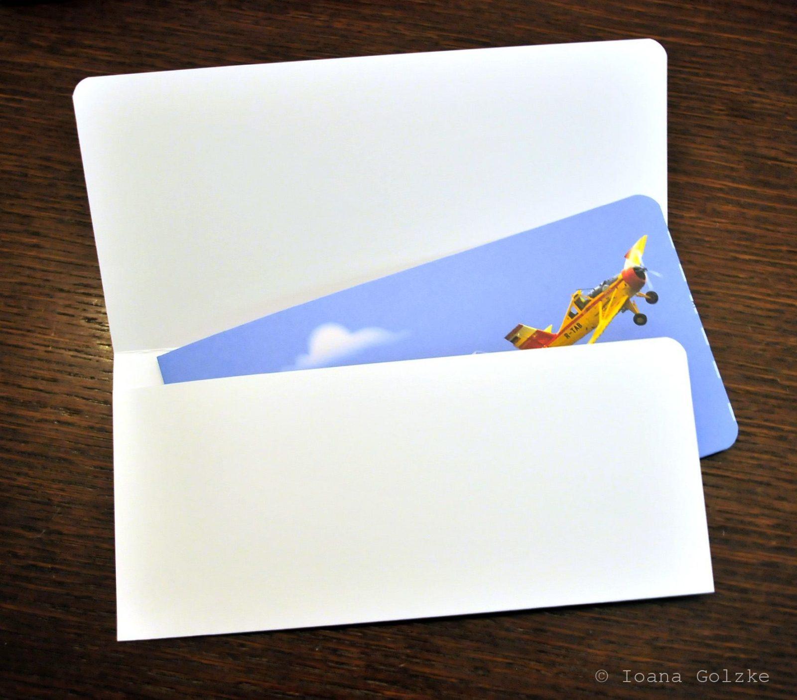 Boarding Pass Einladungskarte - Freebie - HANDMADE Kultur