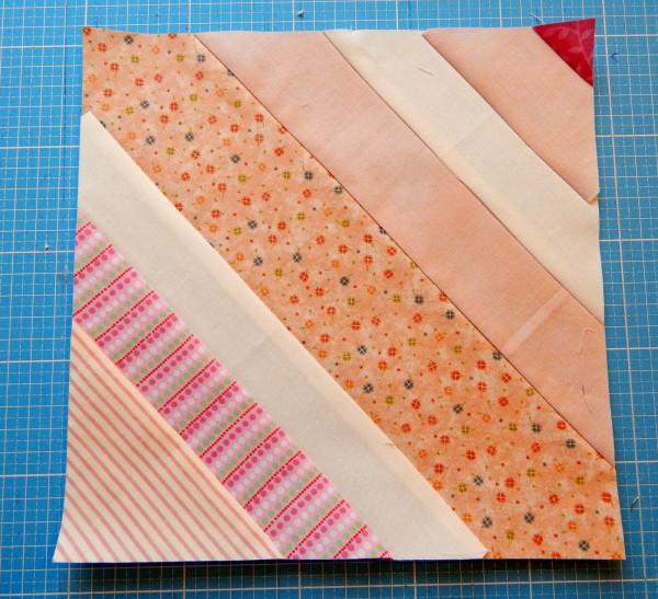 Patchwork- Wegweiser #9- Foundation piecing