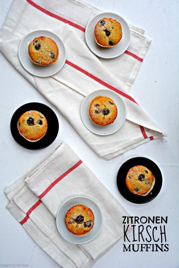 Zitronen-Kirsch-Muffins