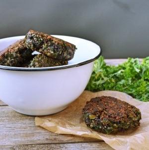 Grünkohl Quinoa Buletten von den [Foodistas]