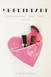 DIY Herztäschchen