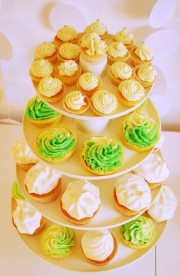 Mini-Cupcakes mit Holunderblütensirup von den [Foodistas]