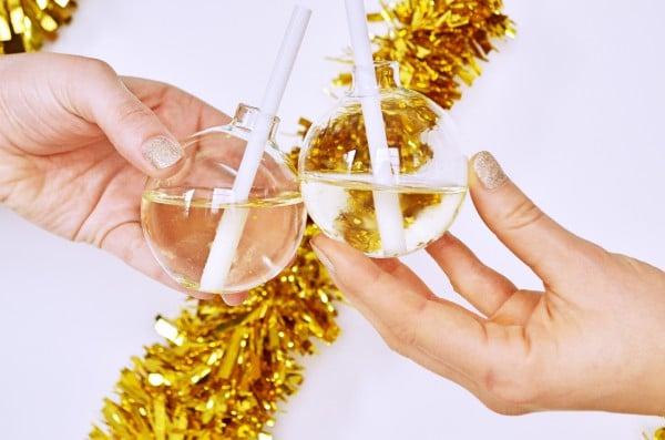 Cheers, Salute und Prost! Unser güldener Prosecco Aperitif von den [Foodistas]