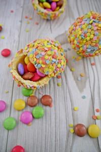 Süße Konfettikugeln oder auch Pinata Kügelchen von den [Foodistas]
