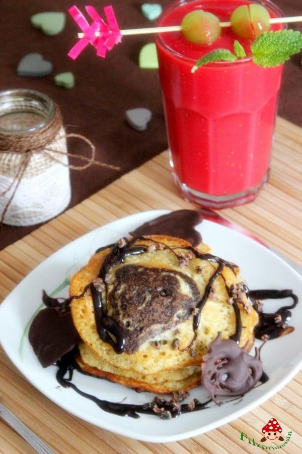 Herzliche Pancakes (vegan)