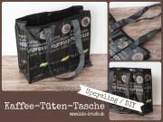 Upcycling Kaffeetüten Tasche