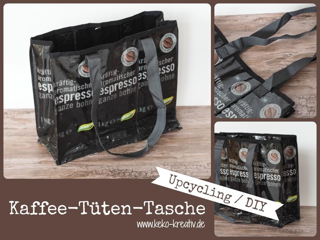 upcycling kaffeet ten tasche handmade kultur. Black Bedroom Furniture Sets. Home Design Ideas