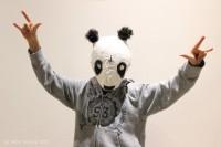 Cro-Pandamaske aus Pappmaché... ein Faschings DIY