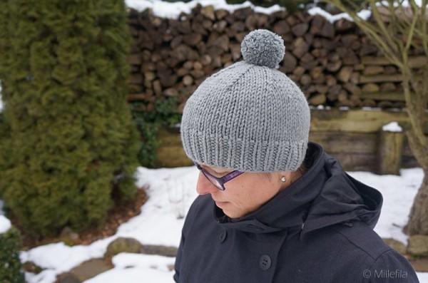 Strickanleitung für eine dicke kuschelige Mütze