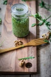 Geschenke aus der Küche: Rucola-Walnuss-Pesto