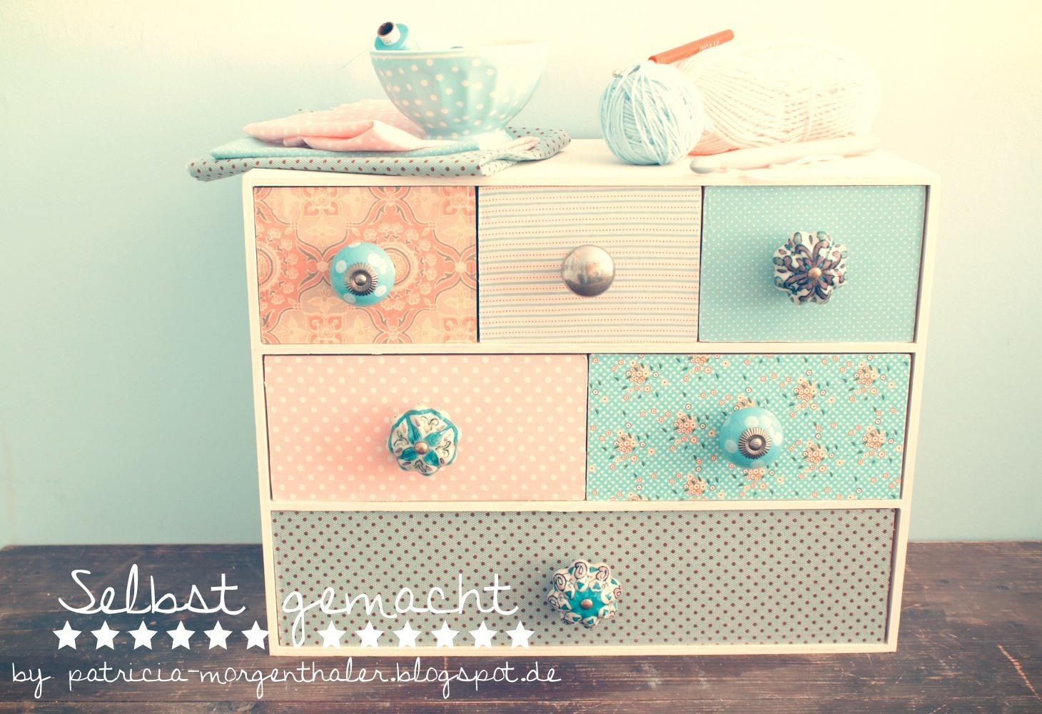 diy: möbel mit stoff beziehen - handmade kultur