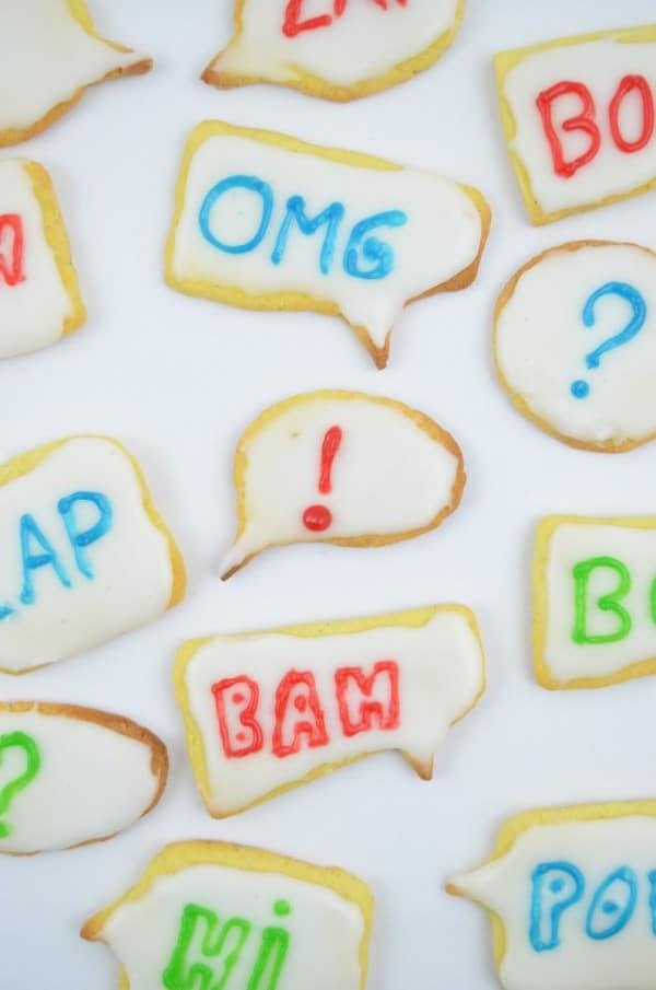Pow Bam Zap! Lasst die Kekse sprechen