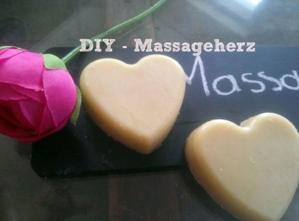 Valentinstags-Massageherz