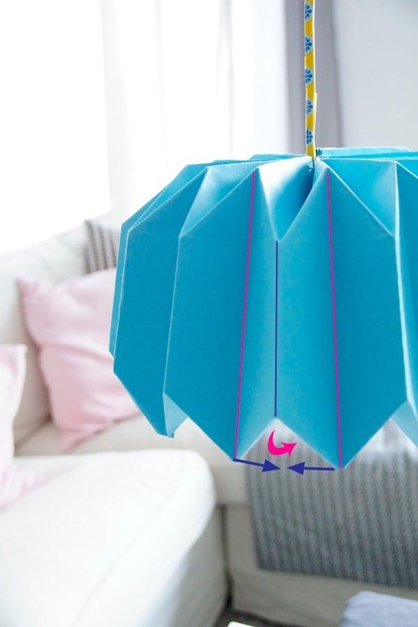 Diy Plissee Lampenschirm In 10 Schritten Handmade Kultur