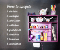 Kinderküche Upcycling oder how to upcycle in 8 Schritten