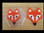 Der Fuchs geht um ... aus Bügelperlen