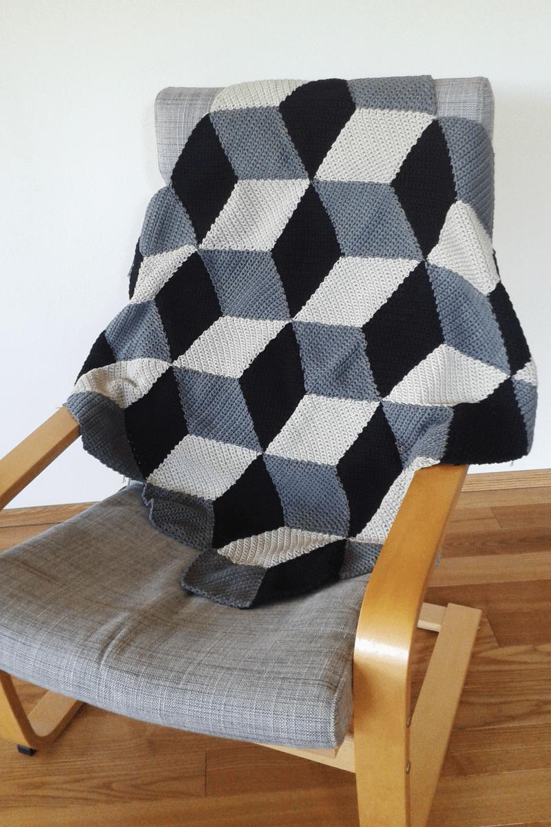 Geometrische H 228 Keldecke Mit 3d Effekt Handmade Kultur