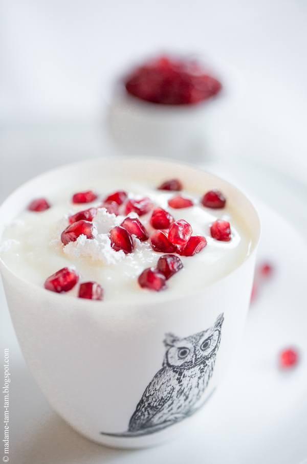 Granatapfel-Joghurt! Mmmmhhh ... so lecker!