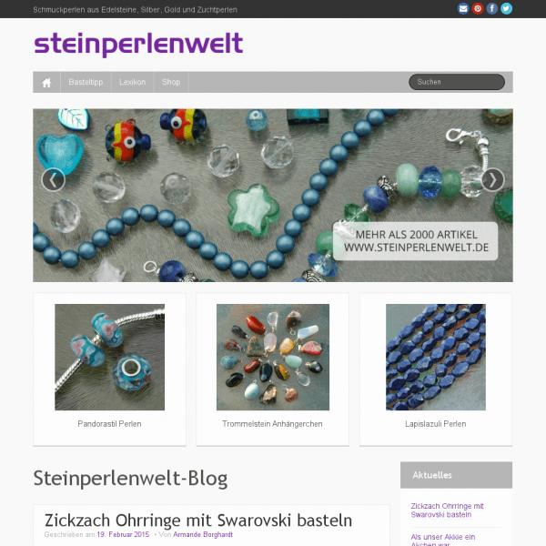 Steinperlenwelt-Blog - Schmuckperlen aus Edelsteine, Silber, Gold und Zuchtperlen