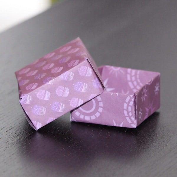 Origami Box falten