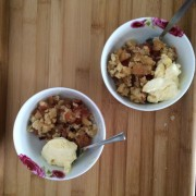 Backen für Ungeduldige: Apple Crumble