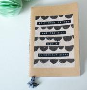 Individuell-gestaltetes Notizbuch